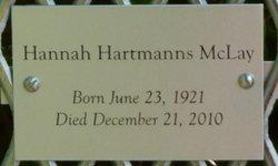 Hannah Hartmanns McLay