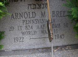Lieut Arnold Max Bree