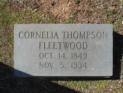 Cornelia <i>Thompson</i> Fleetwood
