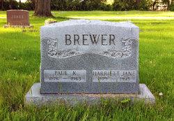 Harriett Jane <i>Dent</i> Brewer