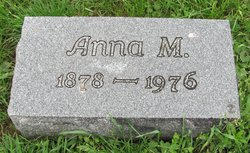 Anna M <i>Reeves</i> Ater