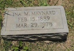 Ina Sister <i>McLane</i> Maynard