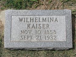 Wilhelmina <i>Schurman</i> Kaiser