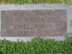 Emma J. <i>Bishop</i> Heaton