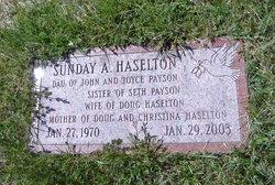 Sunday <i>Payson</i> Haselton