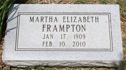 Martha E <i>O'Connor</i> Frampton