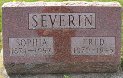 Sophia Auguste Friedrike <i>Serrahn</i> Severin