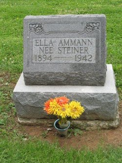 Ella <i>Steiner</i> Ammann