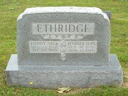 Margaret J Mamma Mag <i>Simmons</i> Ethridge