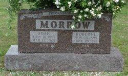 Adah L <i>Ethridge</i> Morrow