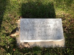 Carolyn E. <i>Wells</i> Breckinridge