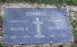 Bertha Frances <i>Siegmund</i> Schnell