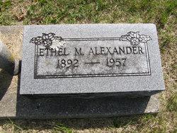 Ethel Mae <i>Carter</i> Alexander