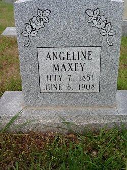 Angeline <i>(Hamm)</i> Maxey