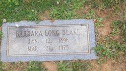 Barbara <i>Long</i> Blake