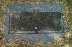 Mary Ann <i>Rogers</i> Hinds
