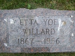 Etta <i>Yoe</i> Willard