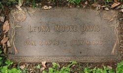 Leona Gertrude <i>Moore</i> Davis