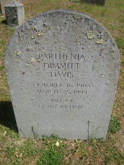 Parthenia <i>Dimmitt</i> Davis