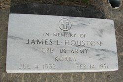 Corp James Leslie Houston
