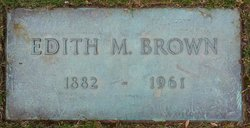 Edith M Brown