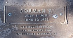 Norman T Cox