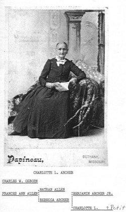 Charlotte A. <i>Pettit</i> Archer