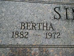 Bertha Simmons