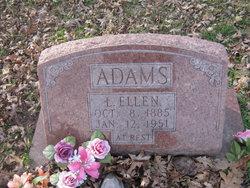 Lucinda Ellen <i>Willhite</i> Adams