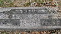 Maud L Beck