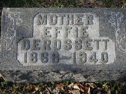 Effie <i>Worley</i> DeRossett