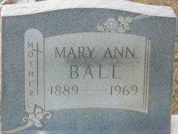 Mary Ann <i>Breland</i> Ball