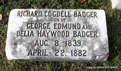 Richard Cogdell Badger