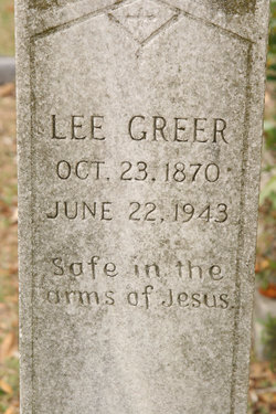 Lee Jackson Greer, Sr