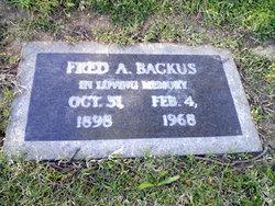 Fredrick Albert Julius Fred Backus