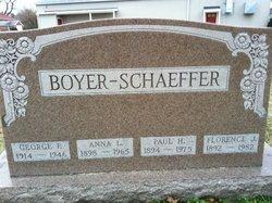 Florence J. <i>Boyer</i> Schaeffer