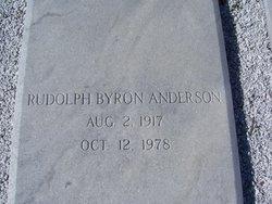 Rudolph Byron Anderson