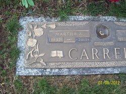 Martha Alice <i>Baldwin</i> Carrell