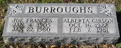 Alberta Maxine <i>Gibson</i> Burroughs