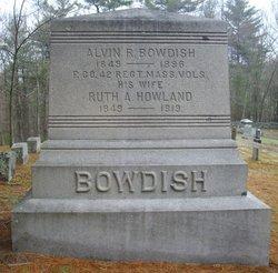 Ruth A <i>Howland</i> Bowdish