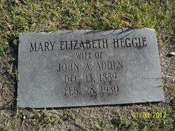 Mary Elizabeth <i>Heggie</i> Adden
