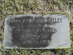 Elizabeth Jane <i>Salley</i> Adden