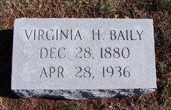 Virginia E <i>Hilliard</i> Baily