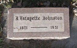 John Lafayette Layton Johnston
