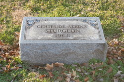 Gertrude <i>Atkins</i> Sturgeon