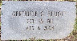 Gertrude Marie <i>Gaudet</i> Elliott