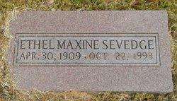 Ethel Maxine Sevedge