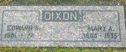 Mary Almeda <i>Thorpe</i> Dixon
