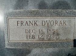 Frank Dvorak, Sr
