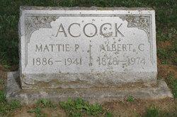 Mattie Pearl <i>Cole</i> Acock